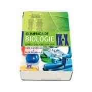 Olimpiada de Biologie - Clasele IX-X - Subiecte si bareme 2014-2019 - Faza judeteana si faza nationala