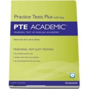 Pearson Test Plus With Key PTE Academic: Pearson Test of English Academic