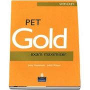 PET Gold Exam Maximiser with key NE and Audio CD Pack