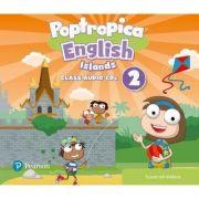 Poptropica English Islands Level 2 Audio CD