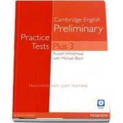 Practice Tests Plus PET 3 without Key and Multi-ROM/Audio CD Pack