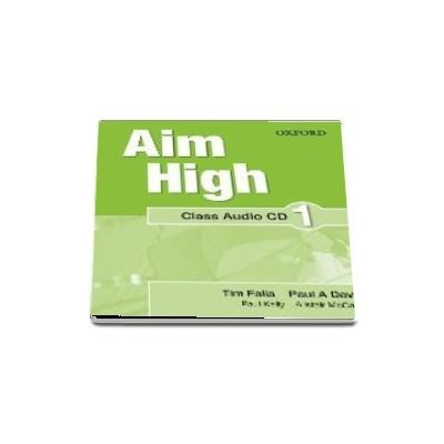 Aim High Level 1 Class Audio CD : A new secondary course which helps students become successful, independent language learners