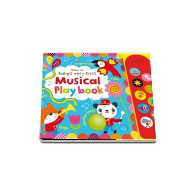 Babys very first touchy-feely musical play book
