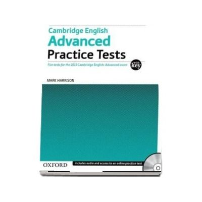 Cambridge English: Advanced Practice Tests: Tests With Key and Audio CD Pack : Four tests for the 2015 Cambridge English: Advanced exam