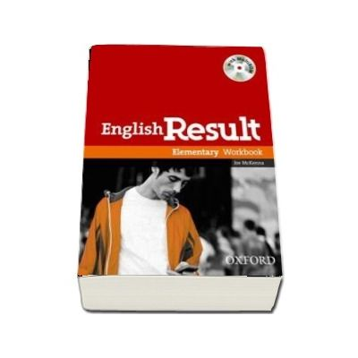 English Result Elementary: Workbook with MultiROM Pack: General English four-skills course for adults