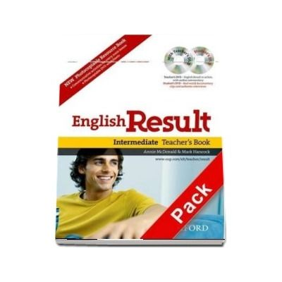 English Result Intermediate. Teachers Resource Pack with DVD and Photocopiable Materials Book, General English four-skills course for adults