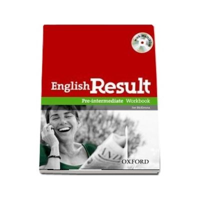 English Result Pre-Intermediate. Workbook with MultiROM Pack, General English four-skills course for adults