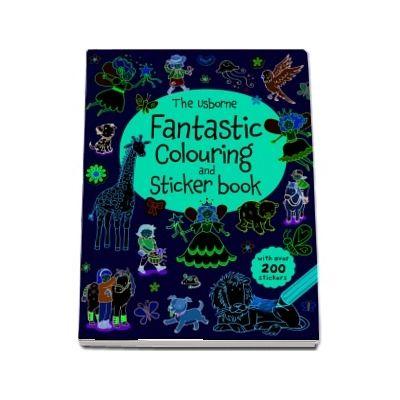 Fantastic colouring and sticker book