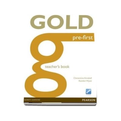 Gold Pre-First Teachers Book