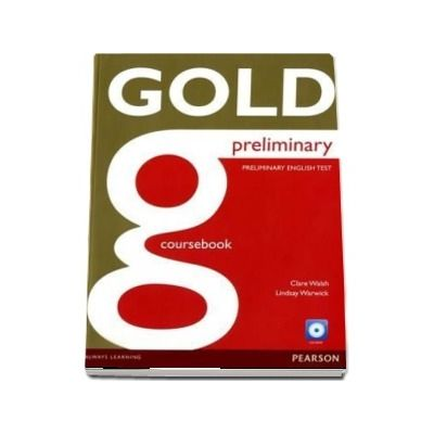 Gold Preliminary Coursebook with CD-ROM Pack