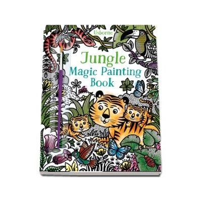 Jungle magic painting book