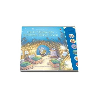 Little childrens bedtime music book