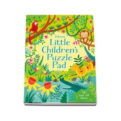 Little childrens puzzle pad