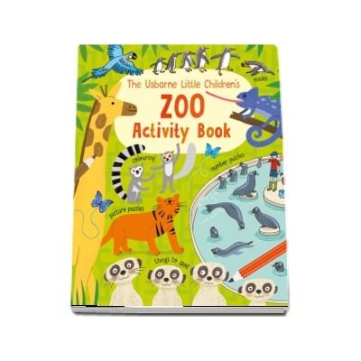 Little childrens zoo activity book