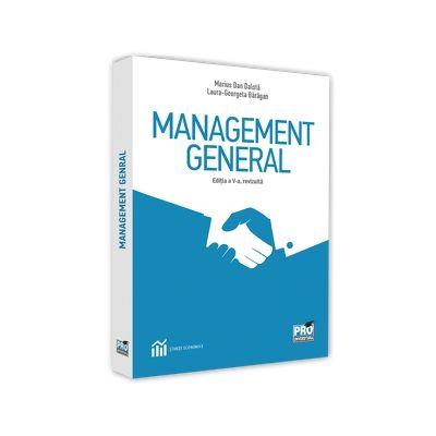 Marius Dan Dalota, Management general. Editia a V-a, revizuita