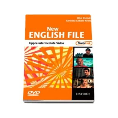 New English File Upper-Intermediate: Upper-Intermediate StudyLink Video: Six-level general English course for adults