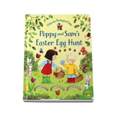 Poppy and Sams Easter egg hunt