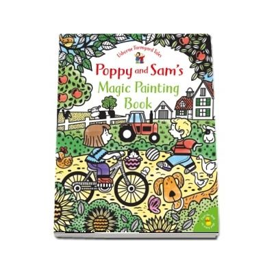 Poppy and Sams magic painting book