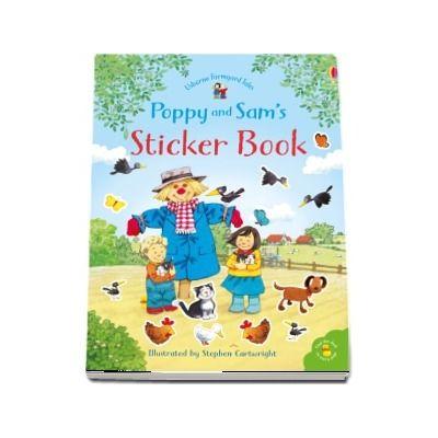Poppy and Sams sticker book