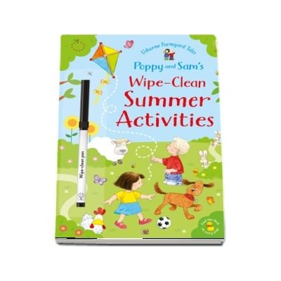 Poppy and Sams wipe-clean summer activities