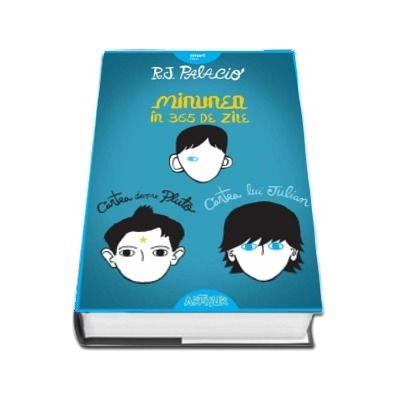 Seria de autor R. J. Palacio - Minunea in 365 de zile, Cartea lui Julian, Cartea despre Pluto - Set 3 volume
