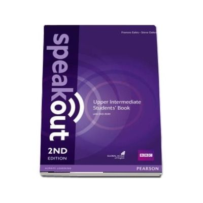 Speakout Upper Intermediate 2nd Edition Students Book and DVD-ROM Pack