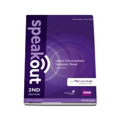 Speakout Upper Intermediate 2nd Edition Students Book with DVD-ROM and MyEnglishLab Access Code Pack