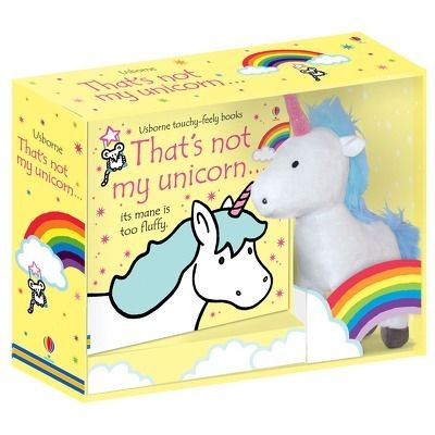Thats not my unicorn... book and toy