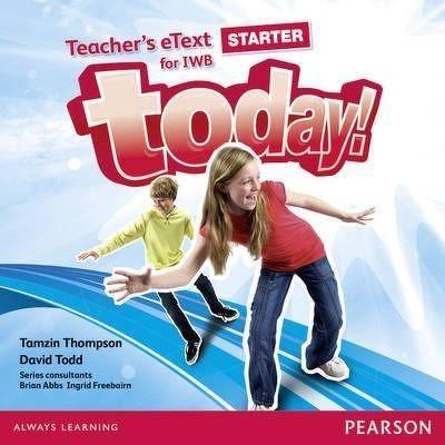 Today! Starter Teachers eText IWB CD-Rom