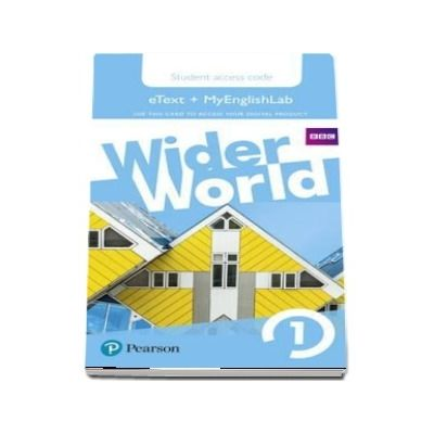Wider World 1 MyEnglishLab & eBook Students Access Card