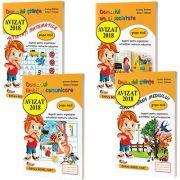 Pachet 4 carti format A4, pentru grupa mica - Avizat M. E. N