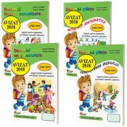 Pachet 4 carti format A4, pentru grupa mare - Avizat M. E. N