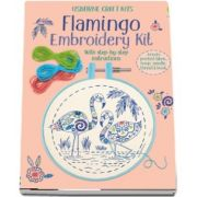 Embroidery kit: Flamingo