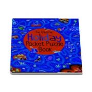 Holiday pocket puzzle book