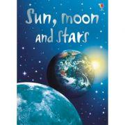 Sun, moon and stars