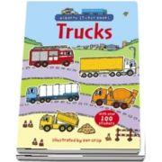 Trucks sticker book