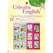 Usborne English teachers notes and students worksheets