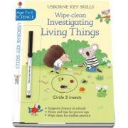 Wipe-Clean Investigating Living Things 7-8