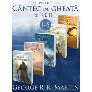 Serie de autor George R. R. Martin - Urzeala Tronurilor set de 5 carti