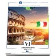 Limba moderna italiana. Manual pentru clasa a VI-a