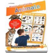Grupe de animale. Planse educationale
