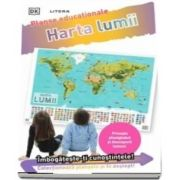 Harta lumii. Planse educationale