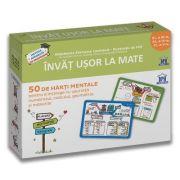 Invat usor la Mate: 50 de harti mentale - Volumul II - CL. a III-a, a IV-a, a V-a