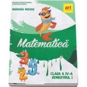 Matematica. Manual pentru clasa a IV-a, semestrul I