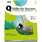 Q Skills for Success Level 3. Listening and Speaking Student Book with iQ Online