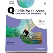 Q Skills for Success Level 4. Listening and Speaking Student Book with iQ Online
