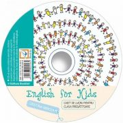 CD audio English for kids, pentru clasa pregatitoare