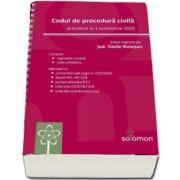 Codul de procedura civila. Actualizat la 1 octombrie 2020