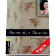 Oxford Bookworms Library Level 1. Remember Miranda audio CD pack