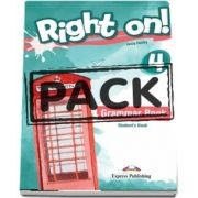 Virginia Evans, Right On! 4. Grammar Book Students with Digibooks App